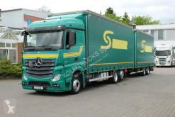 Ciężarówka z przyczepą Mercedes Actros 2545/Retarder/Jumbo-Plane kompletter Zug firanka używana