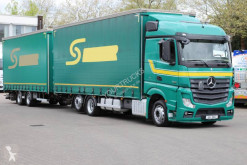 Camion remorque savoyarde Mercedes Actros Mercedes-Benz Actros 2545 kompletter Zug
