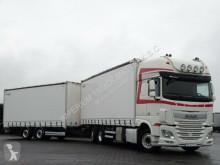 Ciężarówka z przyczepą firanka DAF XF 460/JUMBO TRUCK/VEHICULAR/RETARDER/STEER A