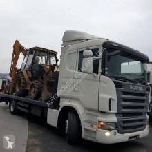 Camion remorque porte engins Scania R 420