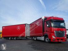 Ciężarówka z przyczepą firanka Mercedes ACTROS 2545/JUMBO TRUCK 120 M3/VEHICULAR/I-COOL