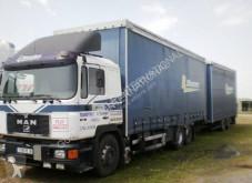 MAN tautliner trailer truck