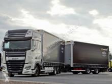 Zobaczyć zdjęcia Ciężarówka z przyczepą DAF XF 460/JUMBO 120M3/EURO 6 / ACC / 7,7M + 7,7M