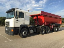 MAN 27.463 tractor-trailer used tipper