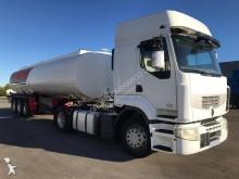 Jízdní souprava cisterna uhlovodíková paliva Renault Premium