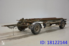 Aanhanger trailer used container