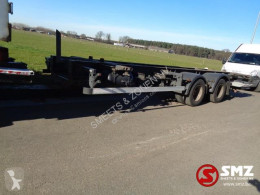 Ensemble routier porte containers Alcar Aanhangwagen twistlocks trailer