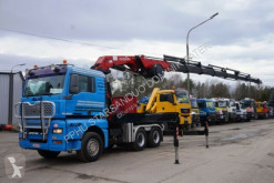 Ensemble routier occasion MAN TG 510 A 6x4 HMF 500 HOURS !!! ODIN Kran WINCH