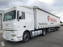 DAF tarp tractor-trailer XF105 460