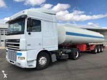 DAF XF95 480 tractor-trailer used oil/fuel tanker