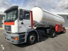 MAN tractor-trailer used gas tanker