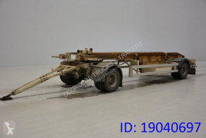 Louault Containertransport B.D.F trailer used container