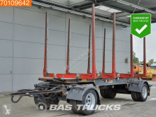 Remorca nc A 131 Steelsuspension transport buşteni second-hand