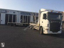 Scania R 500 LB tractor-trailer used flatbed