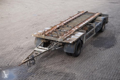 Remorque Burg Container transport Drum brakes porte containers occasion