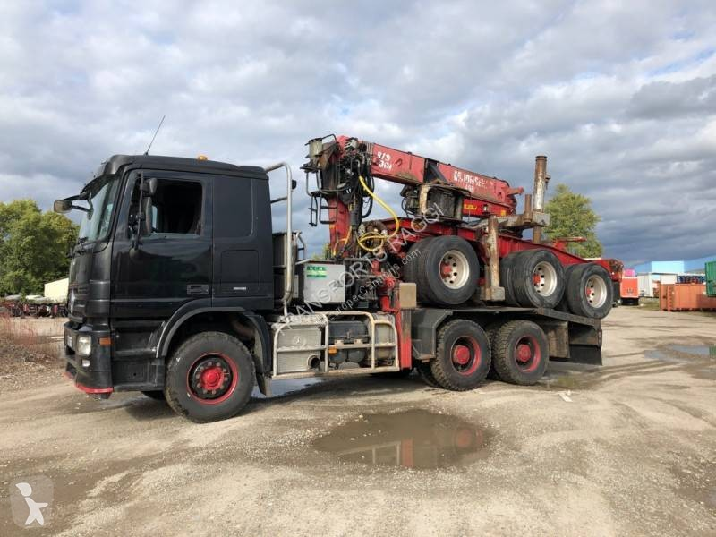 View images Mercedes Actros 3355 tractor-trailer
