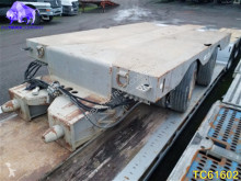 Low-bed semi-trailer used heavy equipment transport