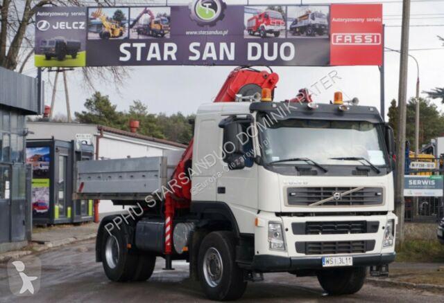Vedere le foto Autoarticolato Volvo FM 380 4x4 HIAB 220 C 4 Cran Kran
