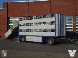 Cuppers cattle trailer LVA 10 10 ZD 3Stock Livestock trailer
