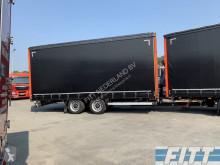 Camião reboque cortinas deslizantes (plcd) usado nc H&W wipcar ahw MEGA schuifzeilen/-dak, doorlader