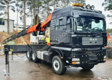 Ensemble routier 二手 曼恩 TGA 26.460 6x6 H PALFINGER PK 36002 EURO Kran