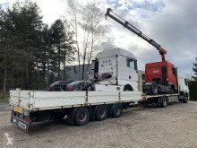 remorque nc platform + alu sideboards - ROR - 7m50 LONG - 1x LIFT-AXLE - AIR SUSPENSION / Pritsche 7m50 + alu bordwanden - 3 achsen