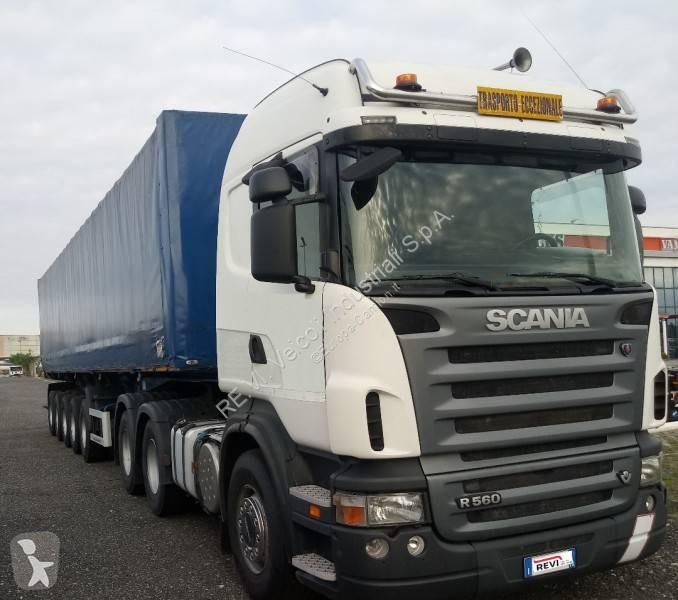 Ver as fotos Conjunto rodoviário Scania R 560
