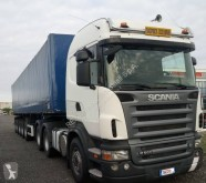 Scania R 560 tractor-trailer used tautliner