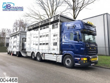 Ensemble routier bétaillère bovins occasion Pezzaioli Autonoom Animal transport, 3 layers, Manual, Retarder, Airco, Standairco, Combi