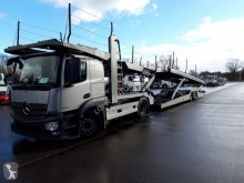 Ensemble routier porte voitures occasion Mercedes Actros 1840