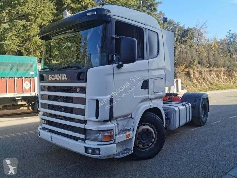 Voir les photos Ensemble routier Scania R124 420