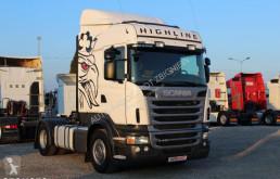 pótkocsis szerelvény Scania R440 *PDE* /EURO 5+AD BLUE / MANUAL 6+POŁÓWKI / STANDARD /RETARDER/ **SERWIS**/ STAN IDEALNY /