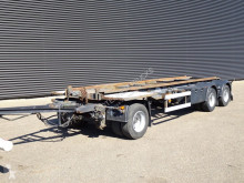 remorque Floor FLA 10-188 / 3 AS MOLEN GESTUURD CONTAINER TRANSPORT