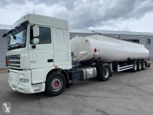 DAF oil/fuel tanker tractor-trailer XF105 460