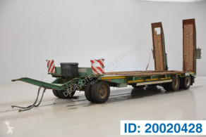 Remolque Low bed trailer portacoches usado