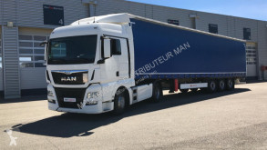 MAN TGX 18.480 tractor-trailer used tautliner