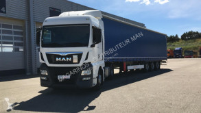 MAN TGX 18.440 XLX tractor-trailer used tautliner