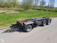 Floor container trailer