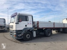 MAN TGA 18.390 tractor-trailer used dropside flatbed
