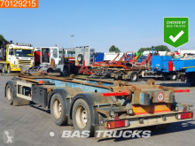Ensemble routier AJK AETL/10-28/19.5 With Sled Liftaxle BPW porte containers occasion