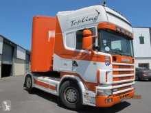 Ensemble routier Scania R 144R530 porte voitures occasion