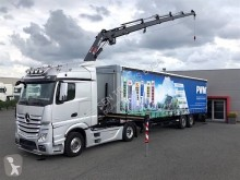 Mercedes Actros 1842 tractor-trailer used tautliner