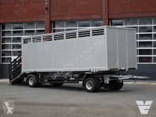 Reboque transporte de gados Web Trailer WFZ/W-18 + FINKL 1-Stock livestock box for BDF-system - NEW!