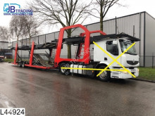 Used car carrier semi-trailer Lohr Middenas Lohr, Eurolohr, Car transporter, Combi