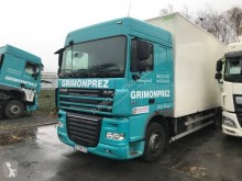 DAF XF105 410 tractor-trailer used box