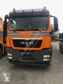 MAN TGS 18.400 tractor-trailer used construction dump
