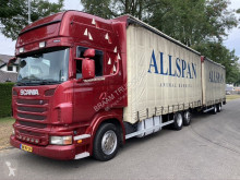 Scania R 480 trailer truck used tautliner