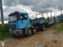 MAN FE 360 A tractor-trailer used heavy equipment transport