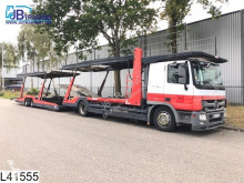 Used car carrier trailer truck Lohr Middenas Actros 1841 Lohr, Multilohr, EURO 5, Retarder, Standairco, Airco, Car transporter, Powershift, Combi