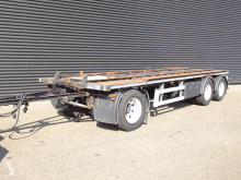 Floor FLA-10-18 CONTAINER TRANSPORT trailer used container